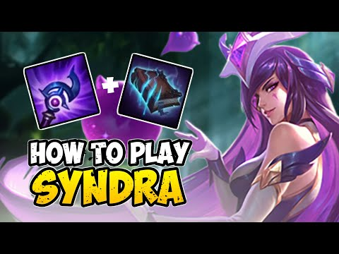 How to Play SYNDRA MID for Beginners | SYNDRA Guide Season 10 | League of Legends