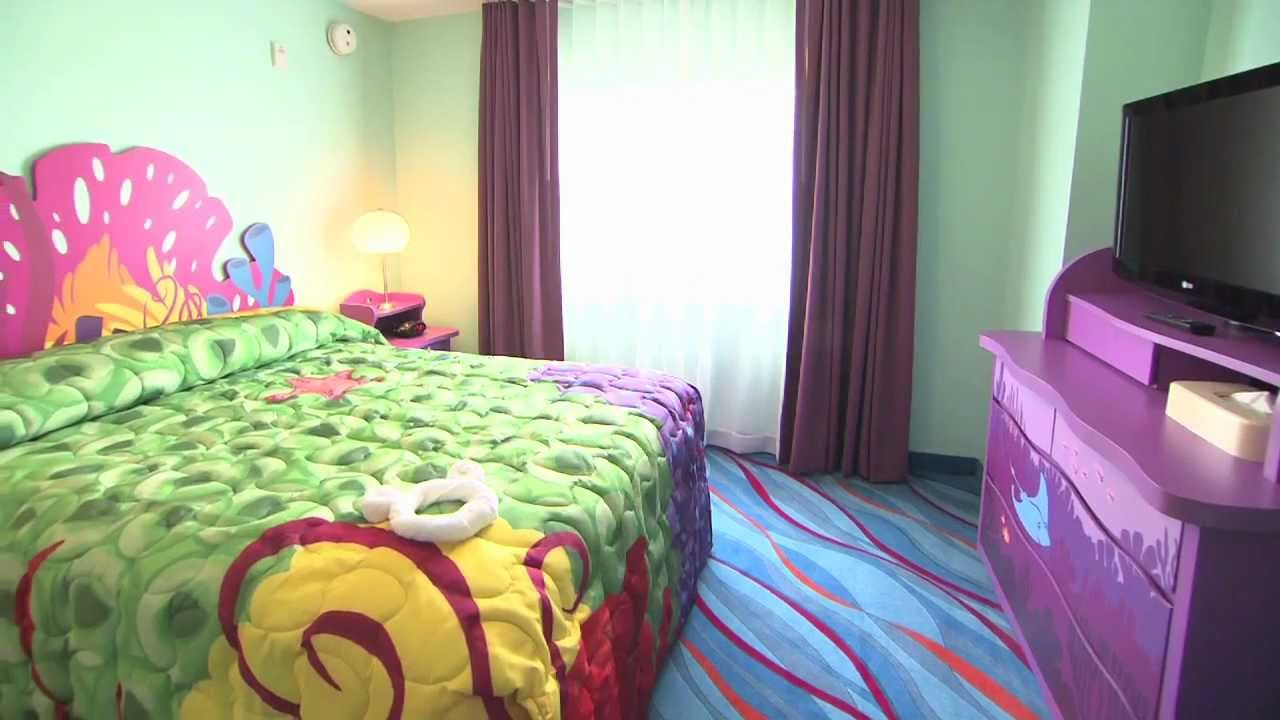 Disney's Art of Animation Resort - Family Suite tour