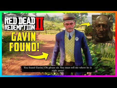 Gavin Has Been FOUND In Red Dead Redemption 2 - NEW Discovery Reveals His Character In Game! (RDR2)
