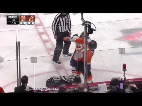 Ryan White vs. Matt Martin