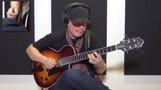 Ulf Wakenius - Jazz Blues Improvisation (Jazz Guitar)
