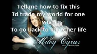 Miley Cyrus Mixed Up/ lyrics