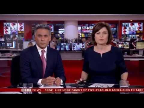 BBC News channel bids farewell to Matthew Amroliwala