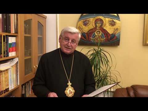 Príhovor vladyku Jána Babjaka SJ k aktuálnej situácii