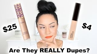 Tarte Shape Tape vs. Wet N Wild Photo Focus Concealer.. Are They Dupes?!