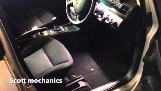Battery location A class Mercedes Benz by scott mechanics