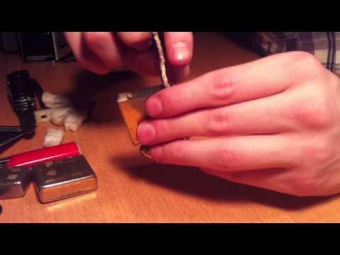 comment reparer la pierre d'un zippo