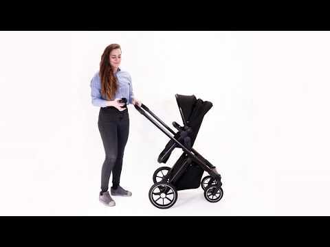 BEQOONI Kinderwagen - Getränkehalter befestigen | BEQOONI Stroller - Attaching the cup holder