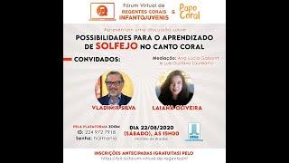 Com o Maestro Drº Vladimir Silva e a Cantora Drª Laiana Oliveira