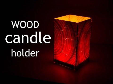 Teelichthalter aus Holz - Für eine dezente Beleuchtung mit Stil