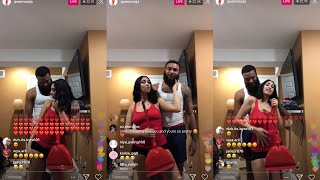 Queen Naija Sings Bad Boy/Butterflies to Clarence!!