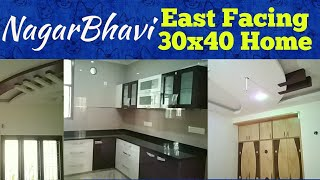 Nagarbhavi 30x40 East Facing Luxurious New Home 3BHK + Home Theater #ForSale