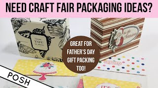 TIME TO PREP FOR CHRISTMAS CRAFT FAIRS 2020 / TWO QUICK AND EASY CRAFT FAIR Packaging Ideas!