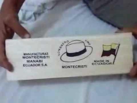 Panamahut einpacken