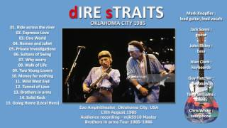 Ride across the river — Dire Straits 1985 Oklahoma City LIVE [audio only]