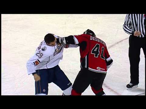 Guillaume Desbiens vs. Chris VandeVelde