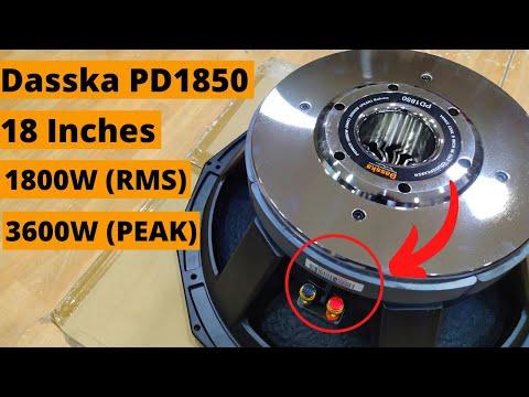 Dasska DX PD1850 18 Inch DJ Speaker 1800W