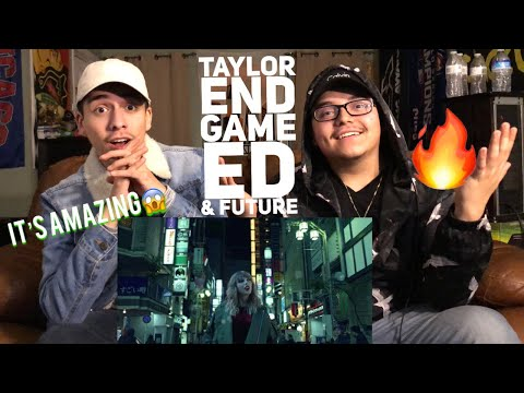 End Game- Taylor Swift ft Ed Sheeran & Future (Official Music Video)| Reaction