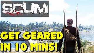 Scum - How to Craft in Scum - Scum Starter Guide (New Survival Game)