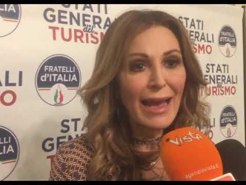 DANIELA SANTANCHE' AGLI STATI GENERALI DEL TURISMO