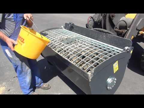 Betonmischschaufel BMX 160 Neugerät