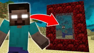 How to Make a Portal to the HEROBRINE Dimension in Minecraft
