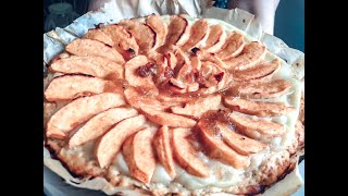 Простые рецепты // Яблочный пирог