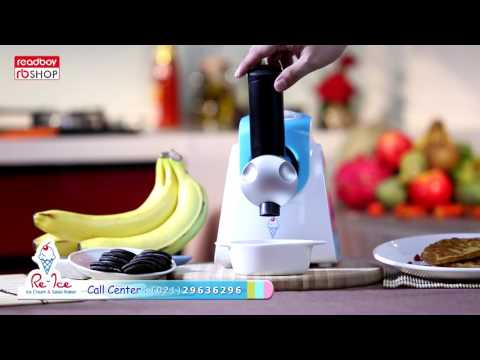 Video RE - ICE ice cream & salad maker