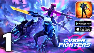Cyber Fighters: Shadow Legends in Cyberpunk City Gameplay (Android /IOS) FULL HD