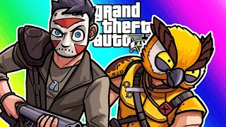 GTA5 Online Funny Moments - Demolition Derby with Mad Maxlerious!