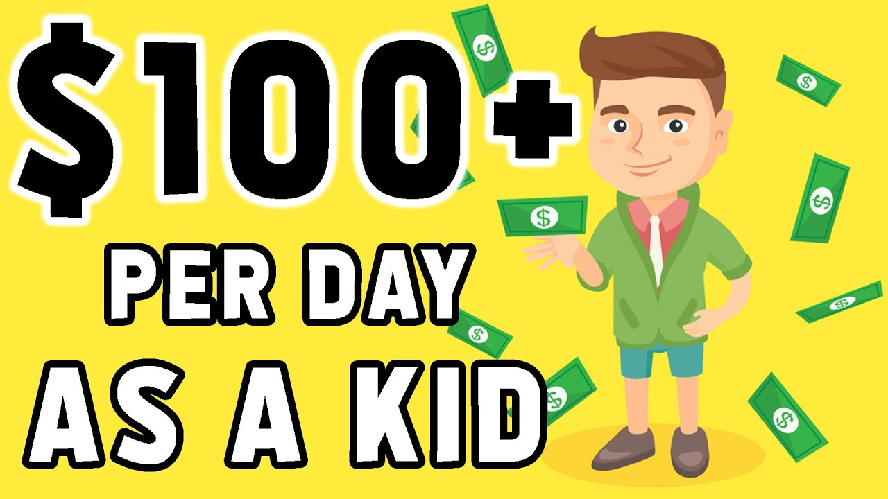 How To Make Money Online For FREE As a Kid Or Teenager (MUST SEE!) thumbnail