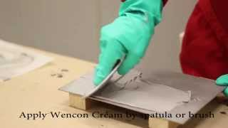 חומר מילוי אפוקסי רב שימושי לחידוש ושיקום חלקי מתכת Wencon rapid