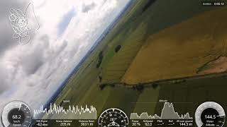 Vidéo de l'avion drone Parrot disco avec batterie parrot disco 4000mah HD1080 30fps