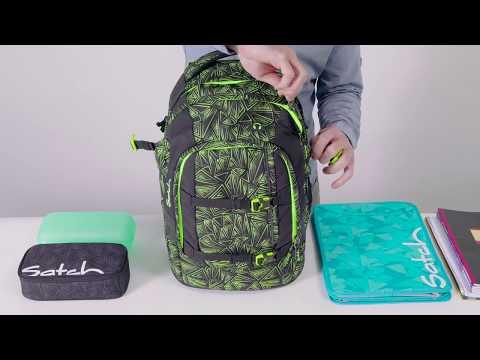 Vorschau: Schulrucksack ergonomisch satch pack Aloha Mint - 30l