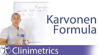 The Karvonen Formula for Target Heart Rate Calculation