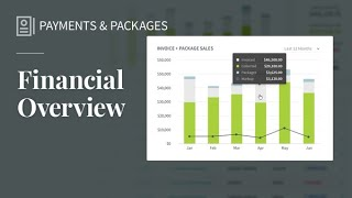 New Financials Page
