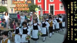 preview picture of video '20. internationales Jugend-Volkstanz-Festival in Seeboden - Festumzug'