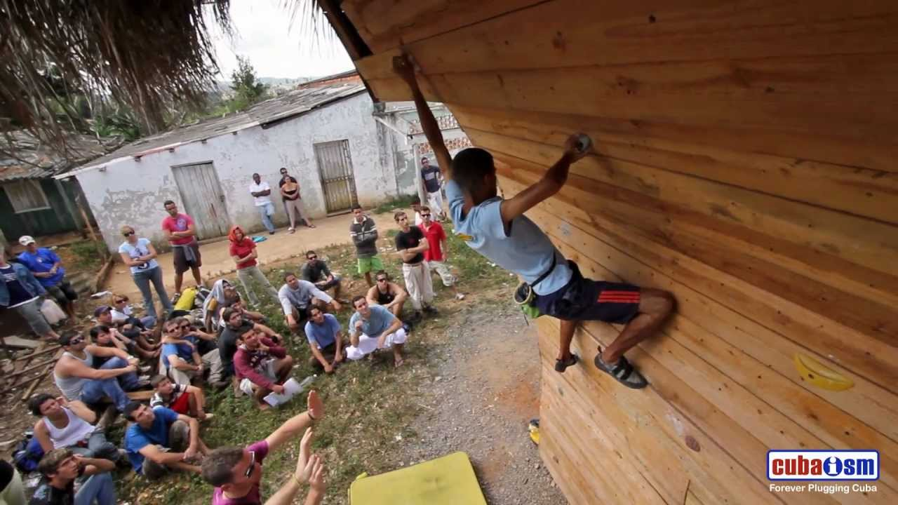 Cuba Climbing Festival 2011 - 2nd Bouldering Problem - 022v01