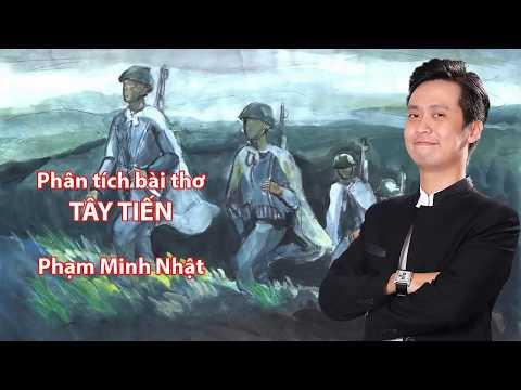 Phân tích bài thơ TÂY TIẾN - Thầy Phạm Minh Nhật