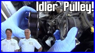 How to Replace an Idler Pulley Ford Explorer