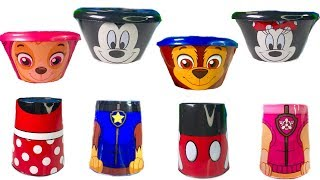 Paw Patrol Wrong Heads Mickey Mouse Clubhouse Minnie Learn Colors Fizzy Fun Toys