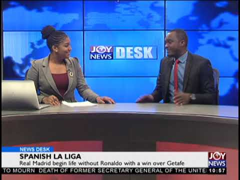Sports Desk on JoyNews (20-8-18)