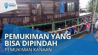Wiki on The Spot: Permukiman Kanaan, Pemukiman di Manado yang Bisa Berpindah