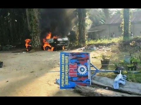 Pertikaian Ormas PP dan IPK di Rokan Hulu Dipicu Tiang Listrik