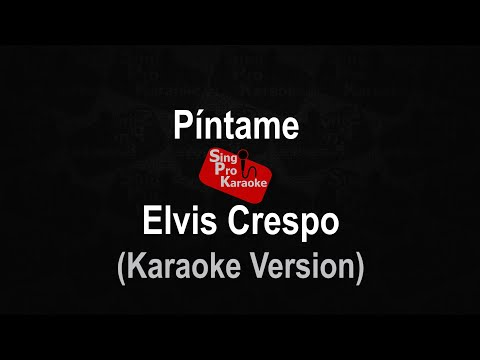 Pintame Elvis Crespo
