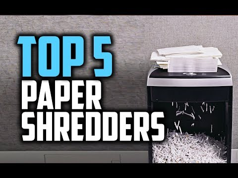 Best Paper Shredders in 2018 – Which Is The Best Paper Shredder?