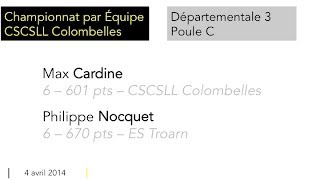 preview picture of video 'Cardine vs Nocquet'