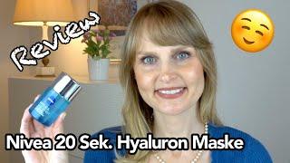 Für Euch getestet: NIVEA HYDRA SKIN EFFECT HYALURON SOFORT-EFFEKT MASKE I 20 Sek. Hyaluron Maske