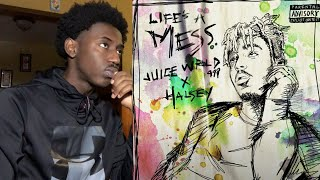 THIS FRIDAY | Juice WRLD ft. Halsey - Life's A Mess | Reaction