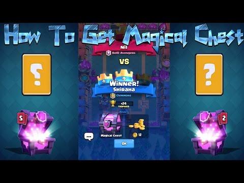 Video Clash Royale - Tips Cara Mendapatkan Magical Chest